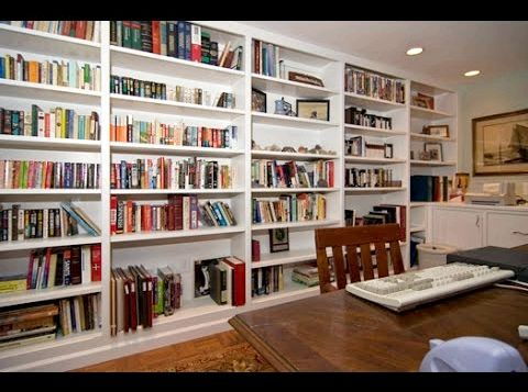 25 Stylish Built-In Bookshelves - Floor-to-Ceiling Shelving Ideas the style of any
