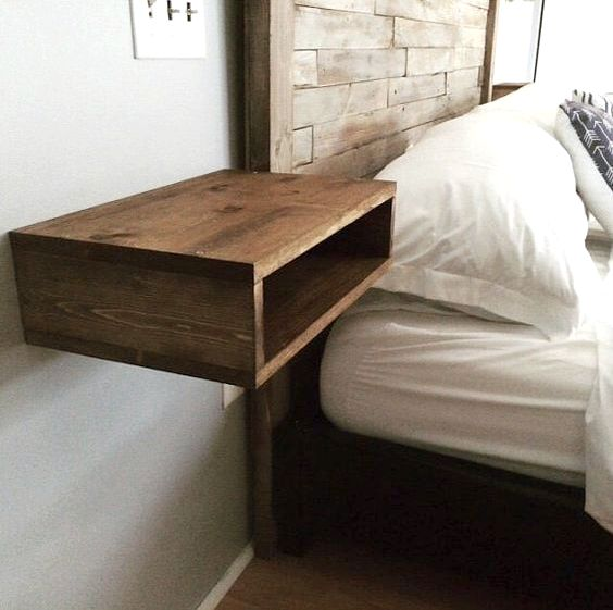 29 Coolest Floating Nightstands And Bedside Tables