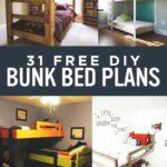 31 DIY Bunk Bed Plans – Ideas that Will Save a Lot of Bedroom Space
