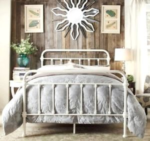Antique Iron Beds, Victorian Vintage Bed Frames, Cathouse Beds <a href='~id-146