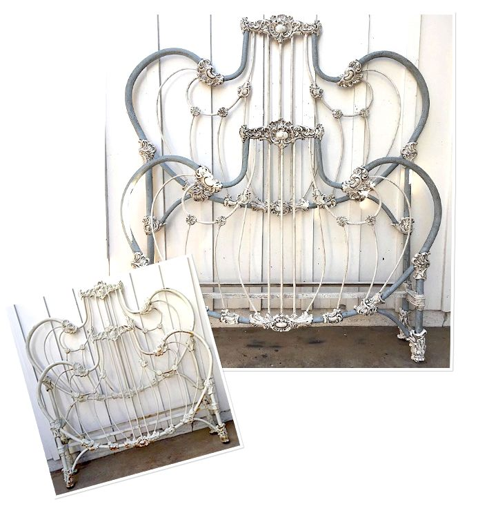 Antique Iron Beds, Victorian Vintage Bed Frames, Cathouse Beds At Cathouse Beds, we provide