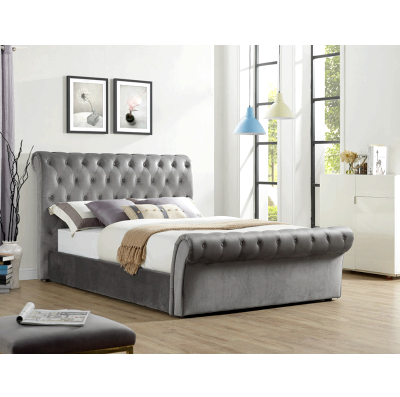 Appleton Ottoman Divan Bed in Black with Mattress from The Original Factory Shop 14 business days         Northern Ireland