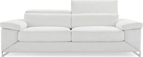 Asa Leather Loveseat by Wade Logan 000 brands of furniture