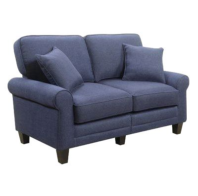 Beachcrest Home Buxton 61 - Rolled Arm Loveseat - Reviews, Wayfair tufted accents on every back