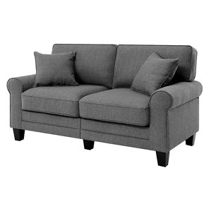 Beachcrest Home Buxton 61 - Rolled Arm Loveseat - Reviews, Wayfair details for more looks