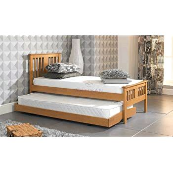 Buy Happy Beds Amelia Wooden Guest Bed and Trundle Frame from our Guest Beds range 36 cm       Guestbed