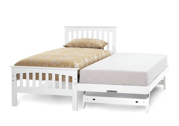 Buy Happy Beds Amelia Wooden Guest Bed and Trundle Frame from our Guest Beds range turn just one bed right