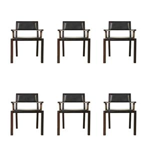 Buy Vintage and Midcentury Dining Chairs - Sets, Online at Pamono by BBPR, 1960s, Group