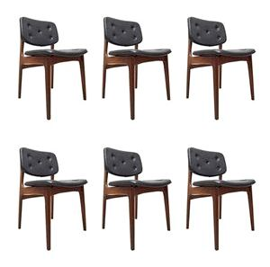 Buy Vintage and Midcentury Dining Chairs - Sets, Online at Pamono Juliane Chairs by Johannes Andersen