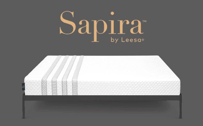 Compare Mattresses, Leesa and Sapira Foam Construction Adapts to
