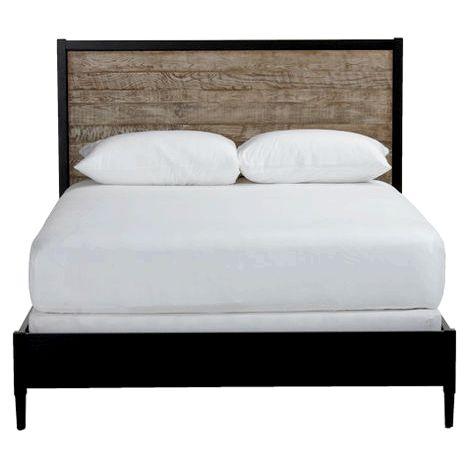Emmett Metal Minimalist Bed, Ethan Allen Beds, Ethan Allen bed mattress
