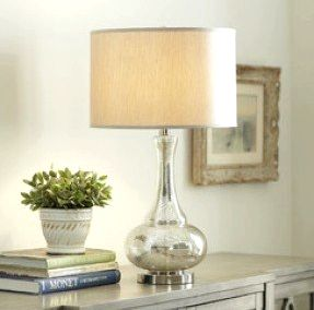 Floor Lamps, Birch Lane Piece Table and Lamp