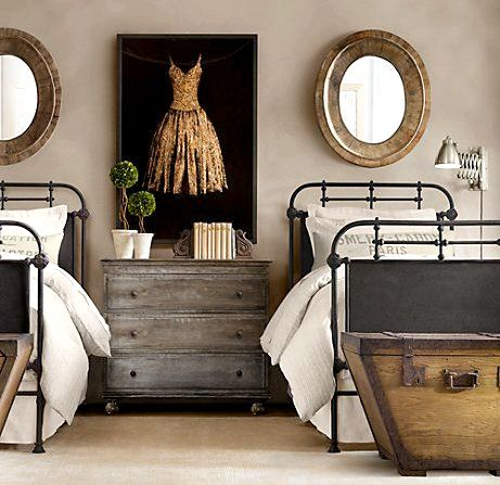 Guest Bed made of woll like