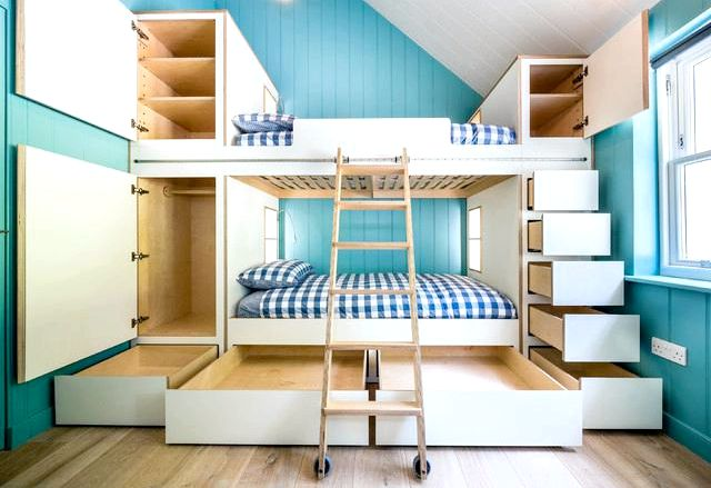 Kids Bunk - Loft Beds, Birch Lane Twin over Full Bunkbed         Rated