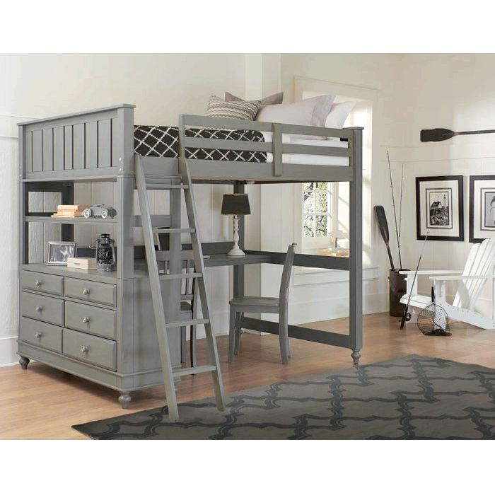 Kids Bunk - Loft Beds, Birch Lane Full Bunkbed with