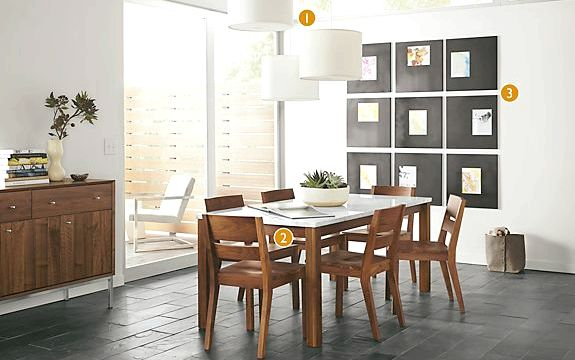 Modern Dining Chairs - Room & Board the world to produce modern