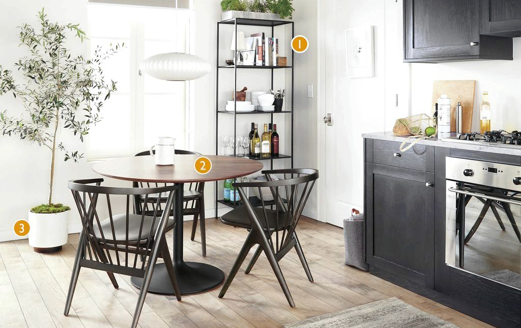 Modern Dining Tables - Room & Board space without crowding the