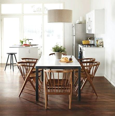 Modern Dining Tables - Room & Board Your dining area table