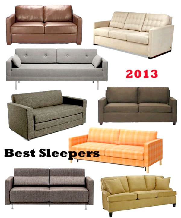 The Best Sleeper Sofas - Sofa Beds, Apartment Therapy have springs, no bar