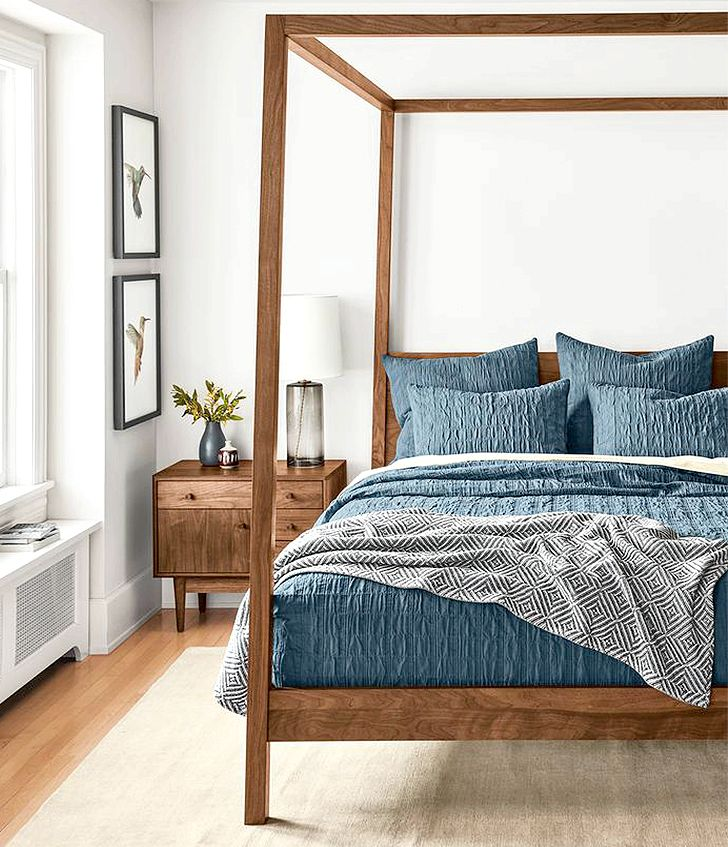 Wood Beds For Any Bedroom Get The Warmth Of Solid Wood an long